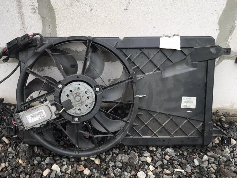 Вентилятор охлаждения Ford Focus 2 2008-2010 2.0 AODA 2008 (б/у)