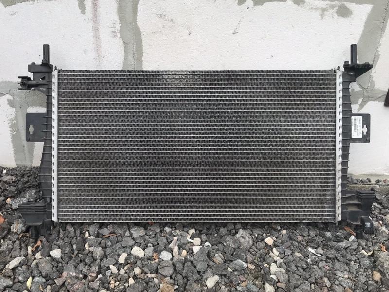 Радиатор двс Ford Focus 3 2011-2017 1.6L 2014 (б/у)