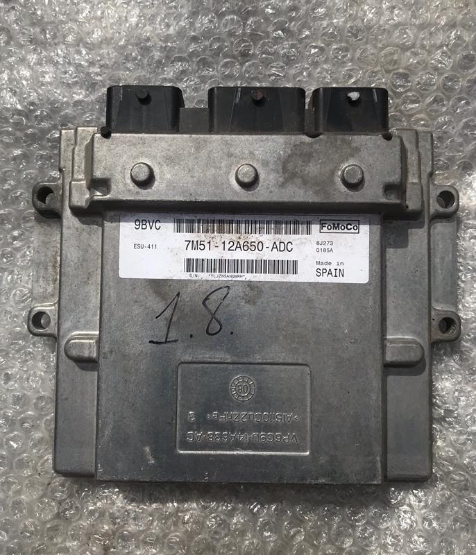 Блок управления двигателем pcm Ford Focus 2 2008-2010 1.8 QQDB 2008 (б/у)