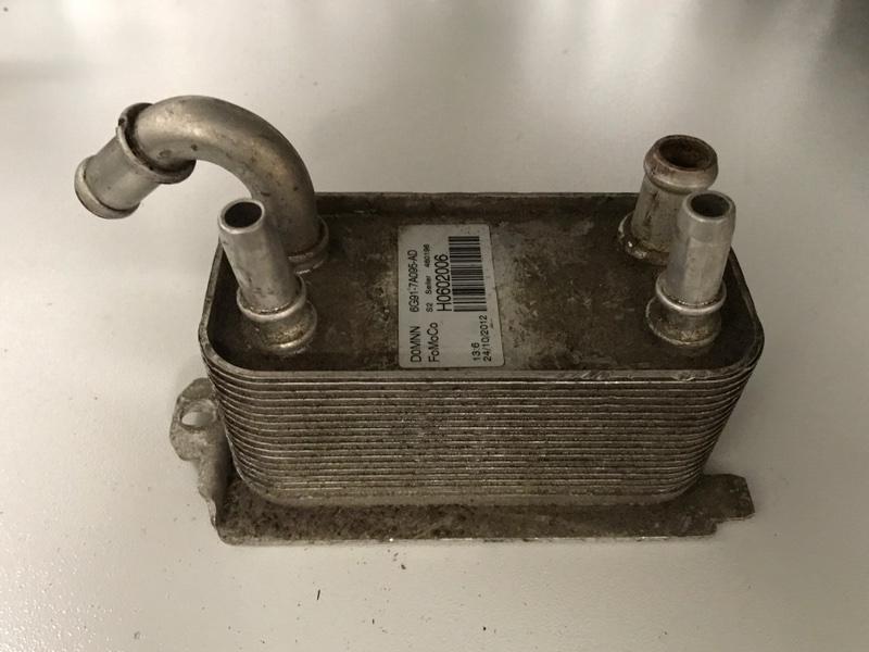 Теплообменник, радиатор маслоохладитель акпп Ford Mondeo 4 2007-2014 2.0 2010 (б/у)
