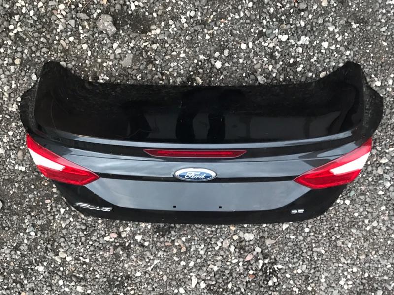 Крышка багажника Ford Focus 3 2011-2015 1.6 2013 (б/у)