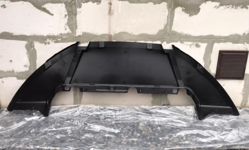 Дефлектор радиатора (бампера) Ford Focus 3 2011-2015 передний нижний