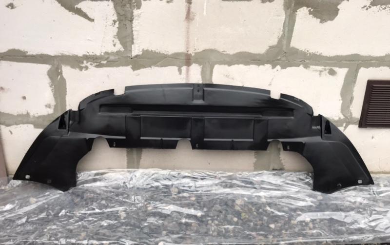 Дефлектор радиатора (бампера) Ford Focus 2 2005-2010 передний нижний