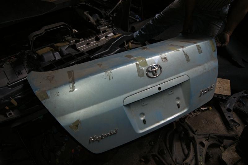 Крышка багажника Toyota Prius 10 (б/у)