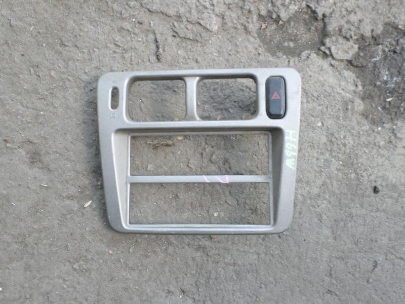 Консоль магнитофона Mitsubishi Pajero Io H66W (б/у)