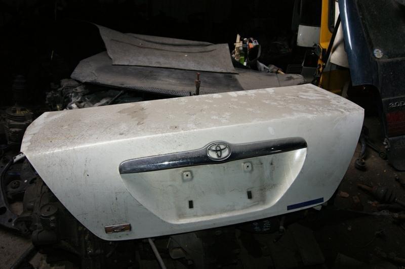 Крышка багажника Toyota Mark Ii JZX110 1JZ-FSE (б/у)