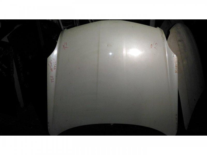 Капот Nissan Skyline V35 VQ25-DD (б/у)