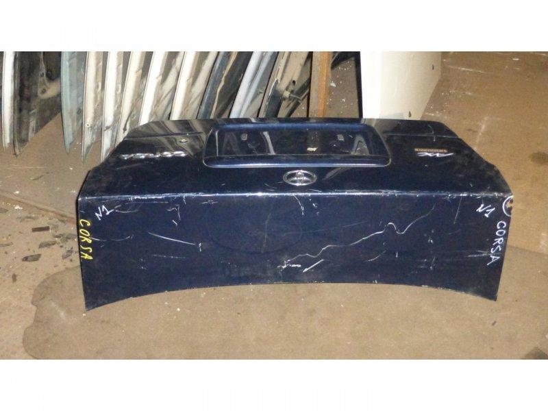 Крышка багажника Toyota Corsa EL51 4E-FE (б/у)