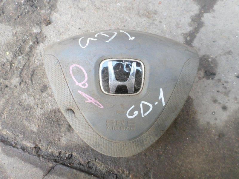 Airbag водительский Honda Fit GD1 (б/у)