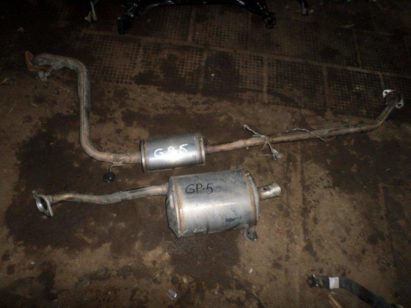 Глушитель Honda Fit GP5 (б/у)