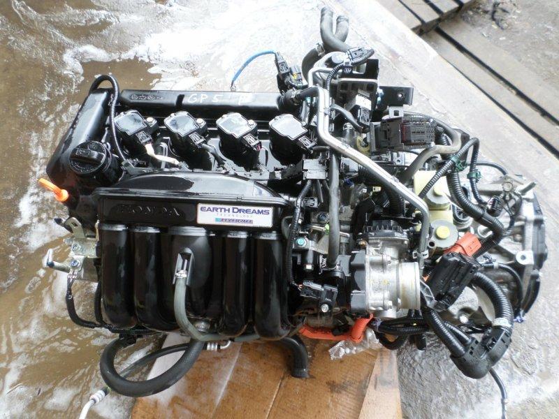 Двигатель Honda Fit GP5 LEB (б/у)