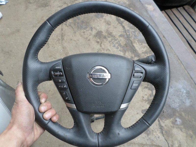 Airbag водительский Nissan Murano TNZ51 QR25 2009 (б/у)