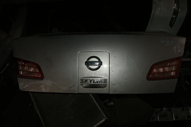 Крышка багажника Nissan Skyline V35 VQ25-DD (б/у)