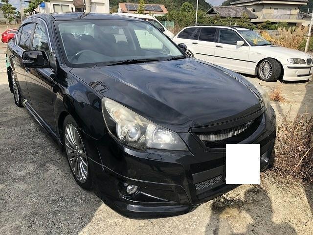 Капот Subaru Legacy B4 BM9 EJ253 2010 (б/у)