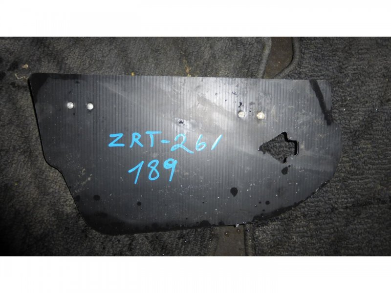 Пол багажника пластик Toyota Allion ZRT261 правый (б/у)