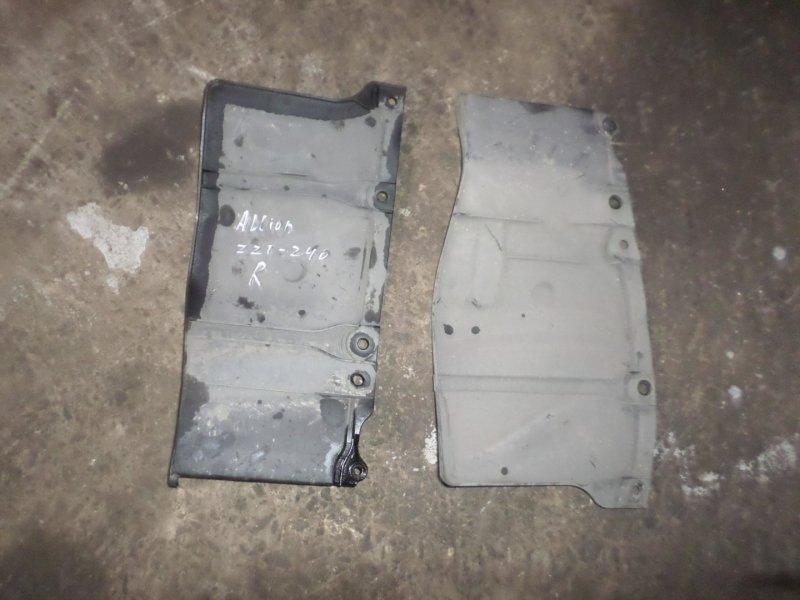 Защита двс Toyota Allion ZZT240 2007 (б/у)