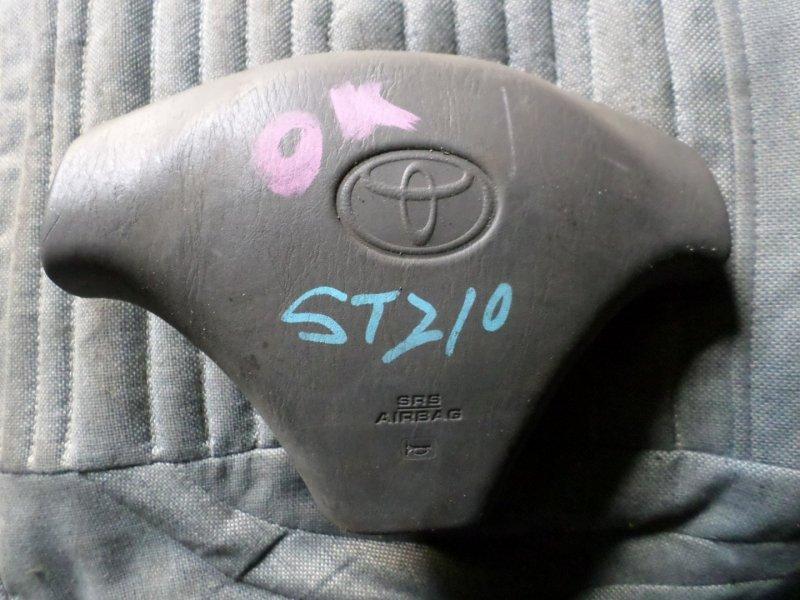 Airbag водительский Toyota Caldina ST210 (б/у)