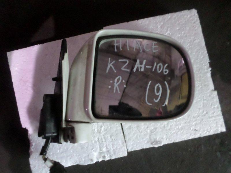 Уши Toyota Hiace KZH106 правые (б/у)