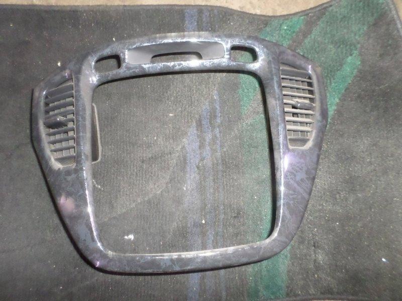 Консоль магнитофона Toyota Kluger ACU20 2AZ 2007 (б/у)