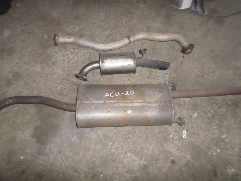 Глушитель Toyota Kluger ACU20 2AZ 2007 (б/у)