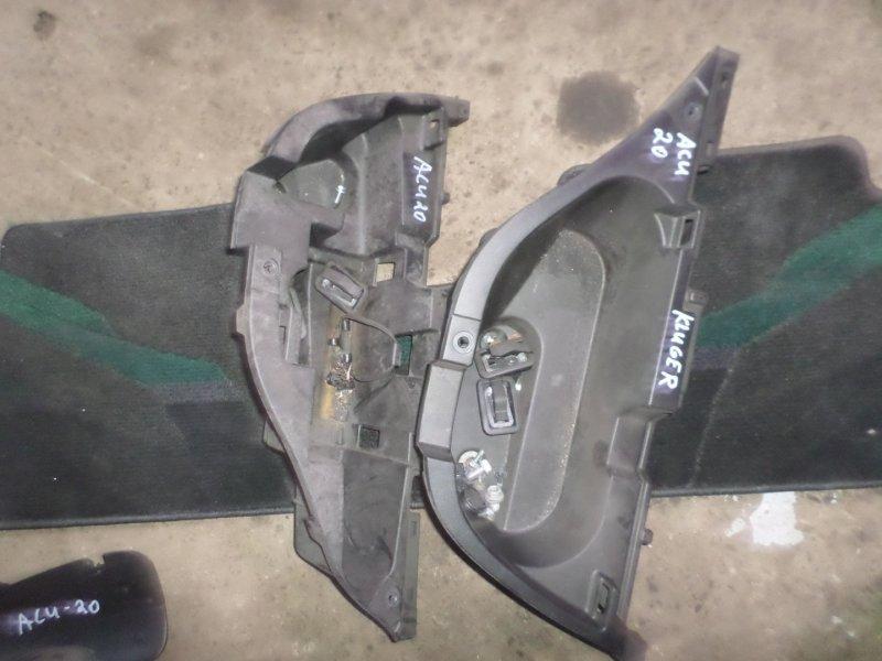 Ящик под инструменты Toyota Kluger ACU20 2AZ 2007 левый (б/у)
