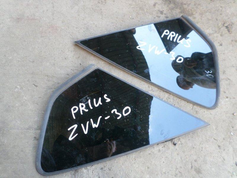 Стекло собачника Toyota Prius ZVW30 левое (б/у)