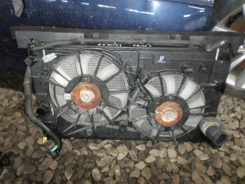 Радиатор основной Toyota Prius Alpha ZVW41 2ZR 2014 (б/у)