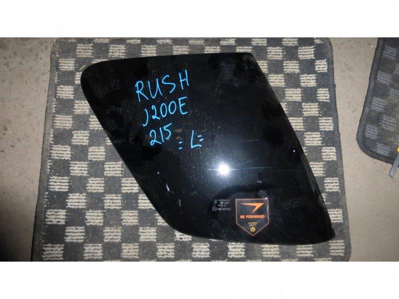 Стекло багажника Toyota Rush J210E левое (б/у)