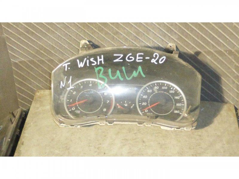 Спидометр Toyota Wish ZGE20 (б/у)