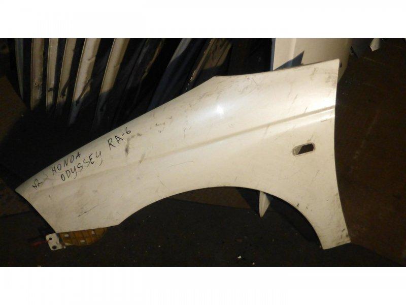 Крыло Honda Odyssey RA6 переднее левое (б/у)