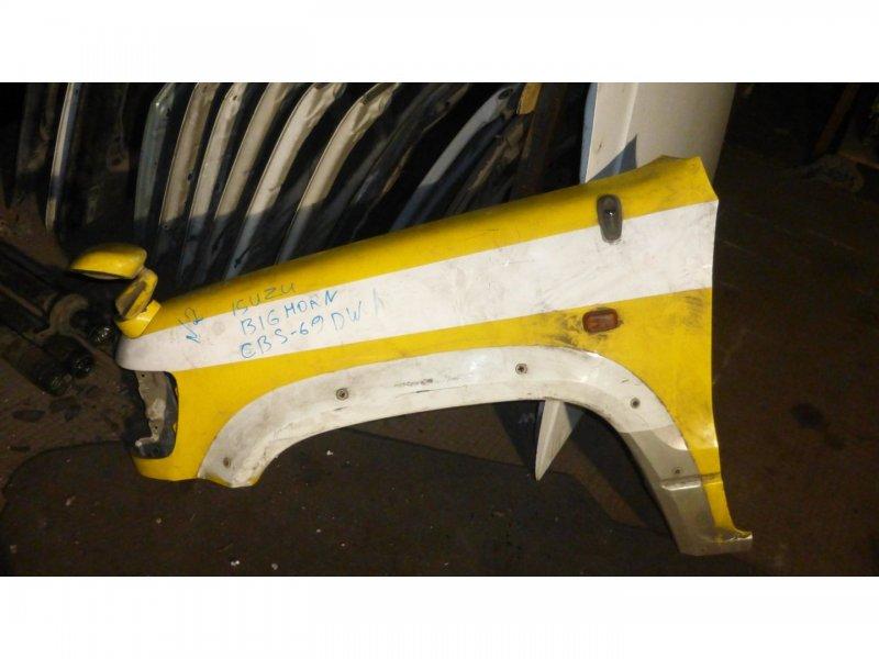 Крыло Isuzu Bighorn UBS73GW 4JX1FRAT4WD переднее левое (б/у)