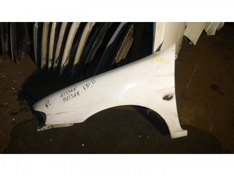 Крыло Nissan Pulsar FN15 переднее левое (б/у)