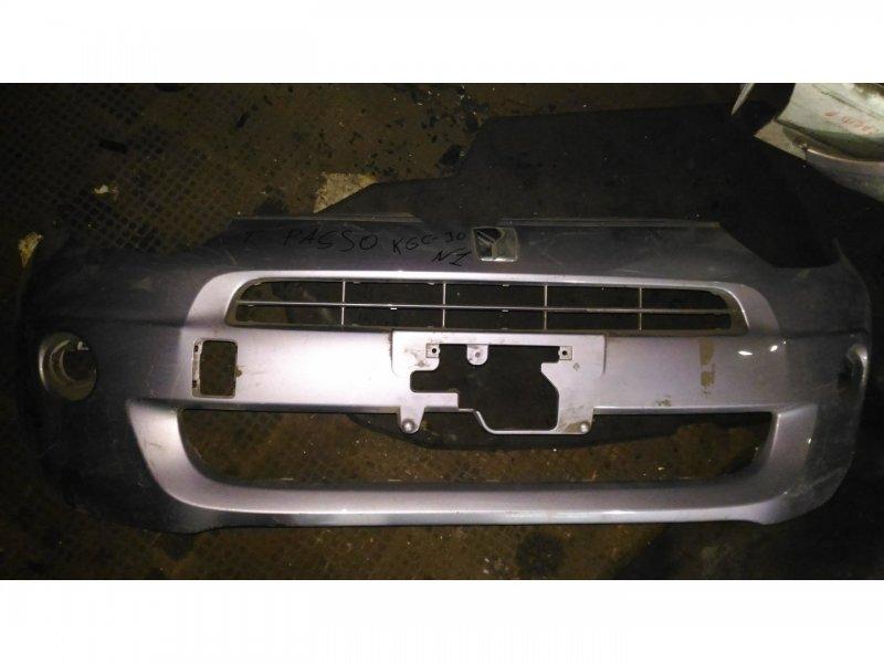 Бампер Toyota Passo KGS30 передний (б/у)