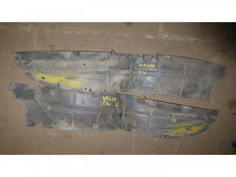 Подкрылок Isuzu Bighorn UBS69 передний левый (б/у)
