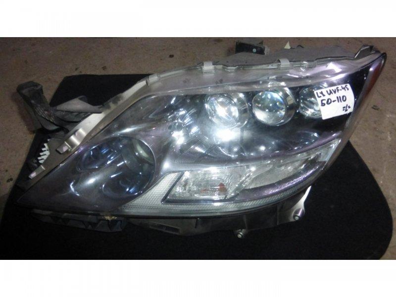 Фара Lexus Ls600H UVF45 2UR-FSE передняя левая (б/у)