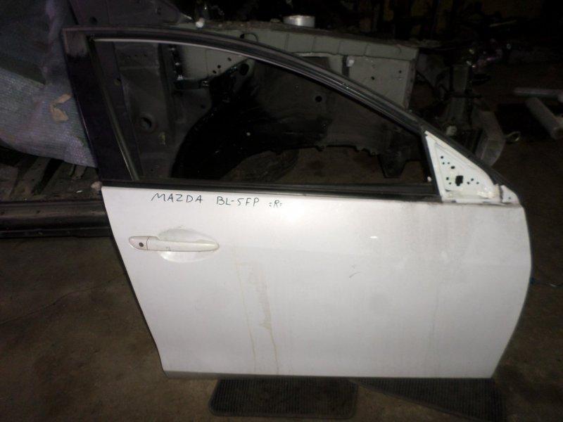 Дверь Mazda Axela BL5FP ZY 2013 передняя правая (б/у)