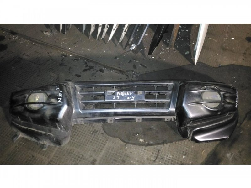 Бампер Mitsubishi Pajero 73 передний (б/у)