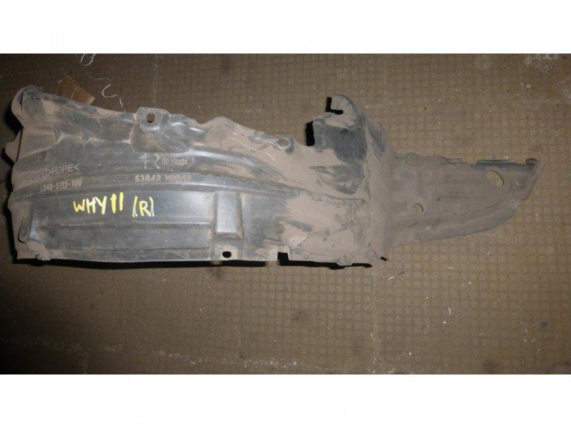 Подкрылок Nissan Wingroad WHY11 передний правый (б/у)