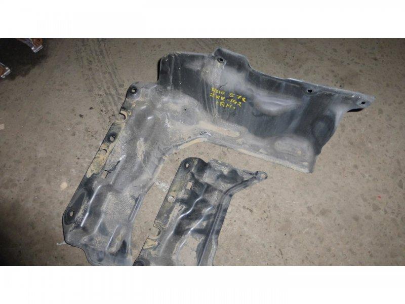 Защита двигателя Toyota Corolla  Axio ZRE142 передняя (б/у)