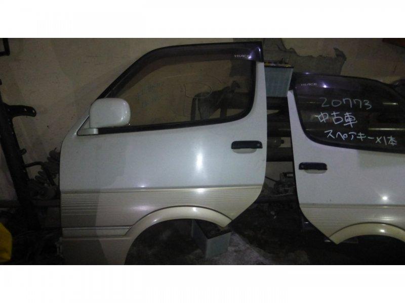 Дверь Toyota Hiace KZH106 1KZ-TE передняя левая (б/у)
