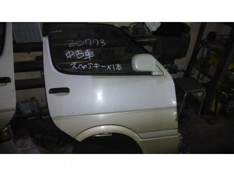 Дверь Toyota Hiace KZH106 1KZ-TE передняя правая (б/у)