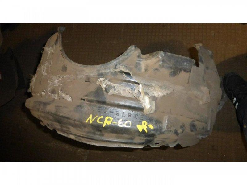 Подкрылок Toyota Ist NCP60 передний правый (б/у)