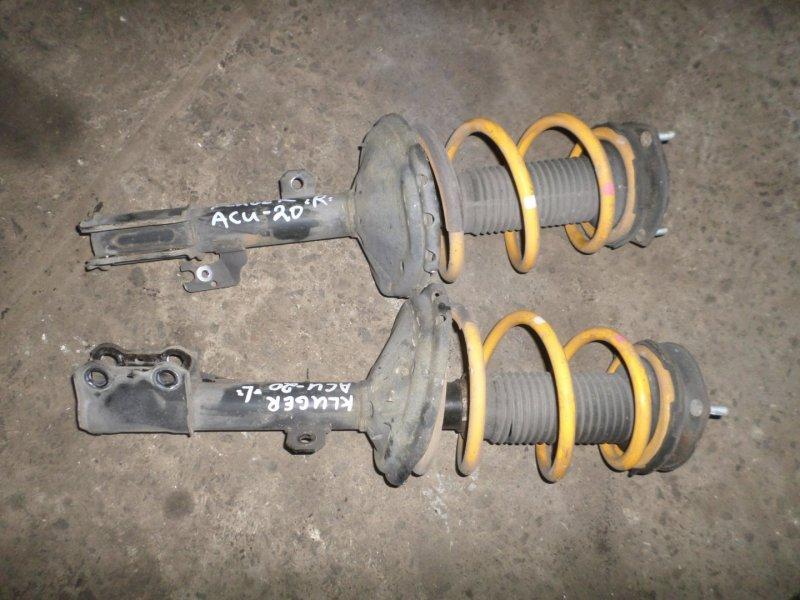 Стойка Toyota Kluger ACU20 передняя правая (б/у)