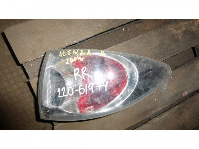 Стоп-сигнал Mazda Atenza GY3W задний правый (б/у)