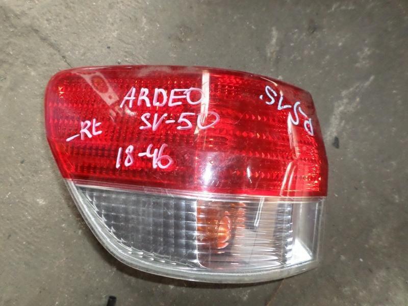 Стоп-сигнал Toyota Vista Ardeo SV50 задний левый (б/у)