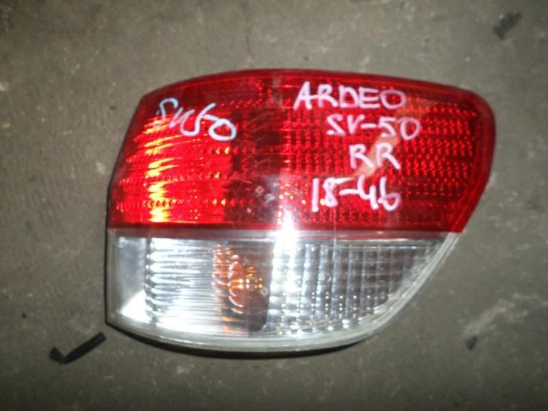 Стоп-сигнал Toyota Vista Ardeo SV50 задний правый (б/у)