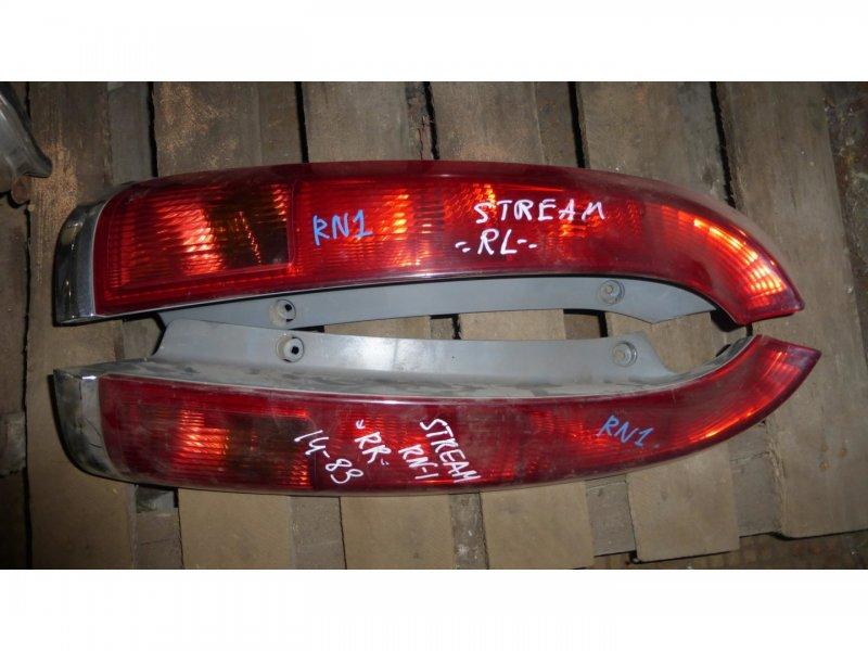 Стоп-сигнал Honda Stream RN1 задний левый (б/у)