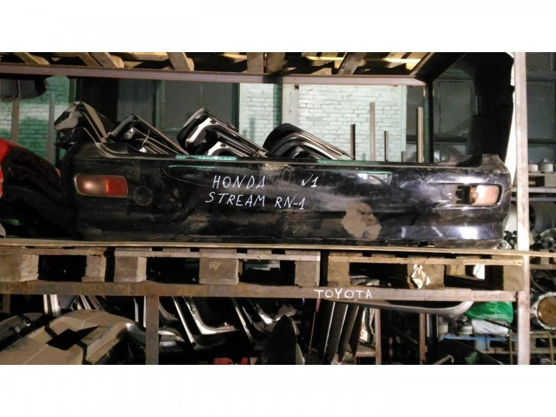 Бампер Honda Stream RN1 D17A задний (б/у)