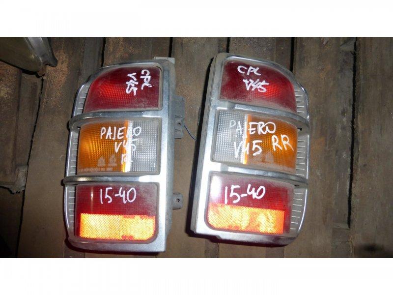 Стоп-сигнал Mitsubishi Pajero V45 задний левый (б/у)