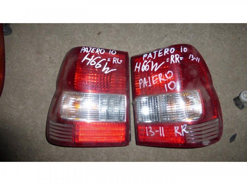 Стоп-сигнал Mitsubishi Pajero Io H76W задний левый (б/у)